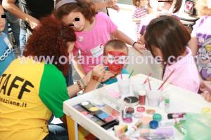 animazione bambini roma trucco viso